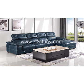 Durable Genuine Leather Sofa